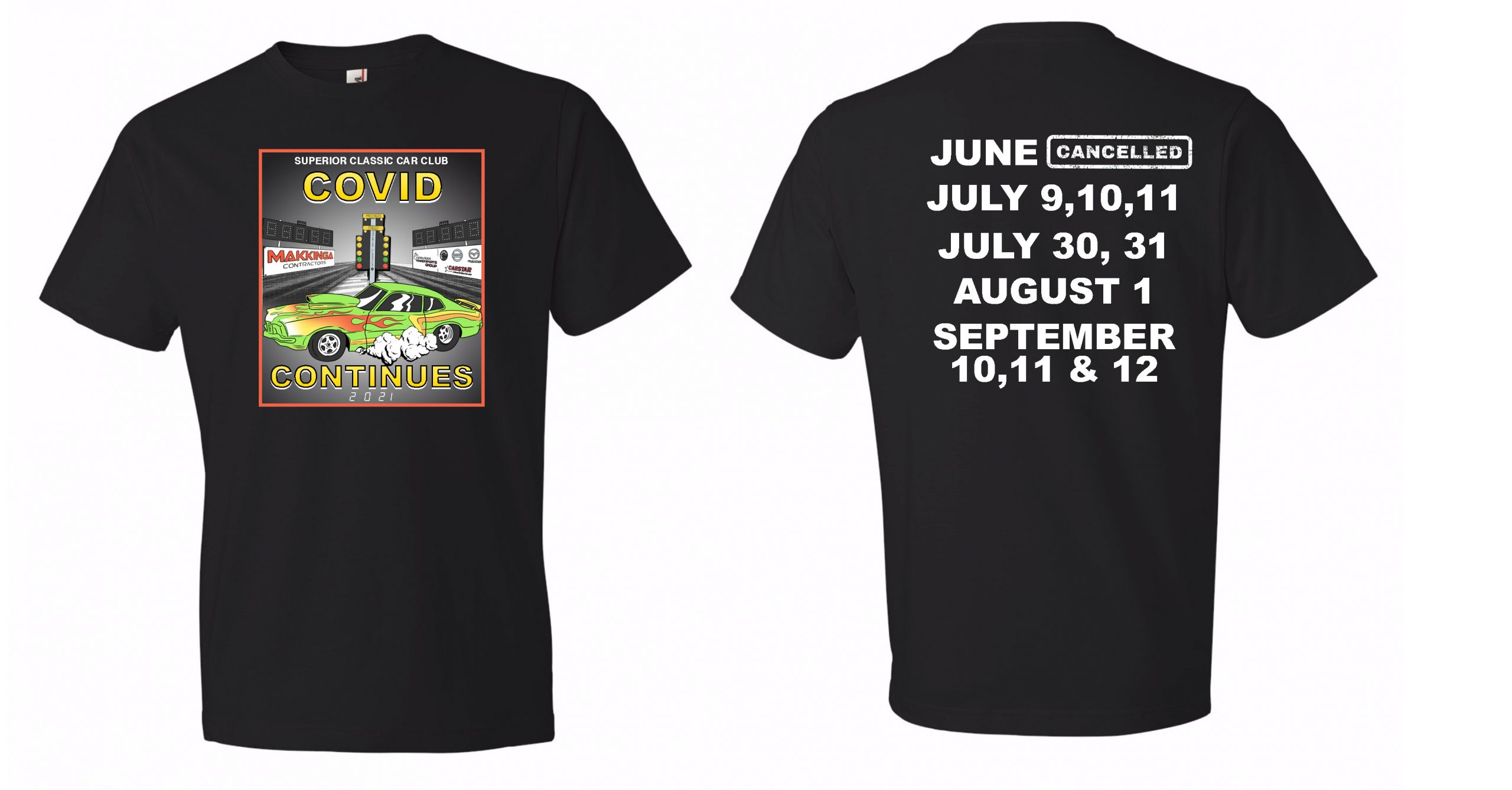 Taking pre-paid orders only at 30$ per shirt . Text 807-823-1444 with the size you require and payment. Please state your name also. Children's shirts available